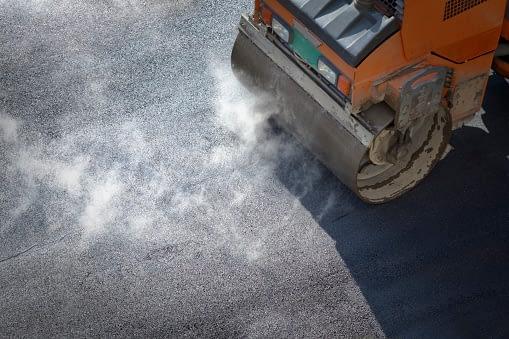 sıcak asfalt
